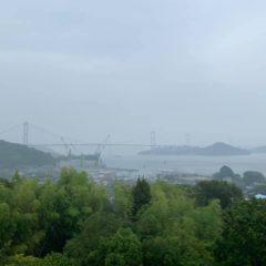 しまなみ海道を通って、大三島にある伊東豊雄建築ミュージアムへ